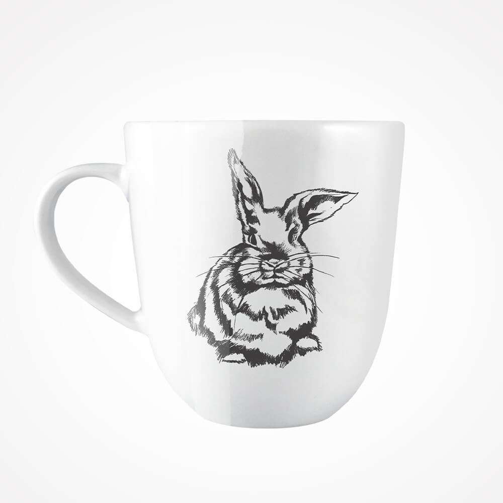 kubek z królikiem