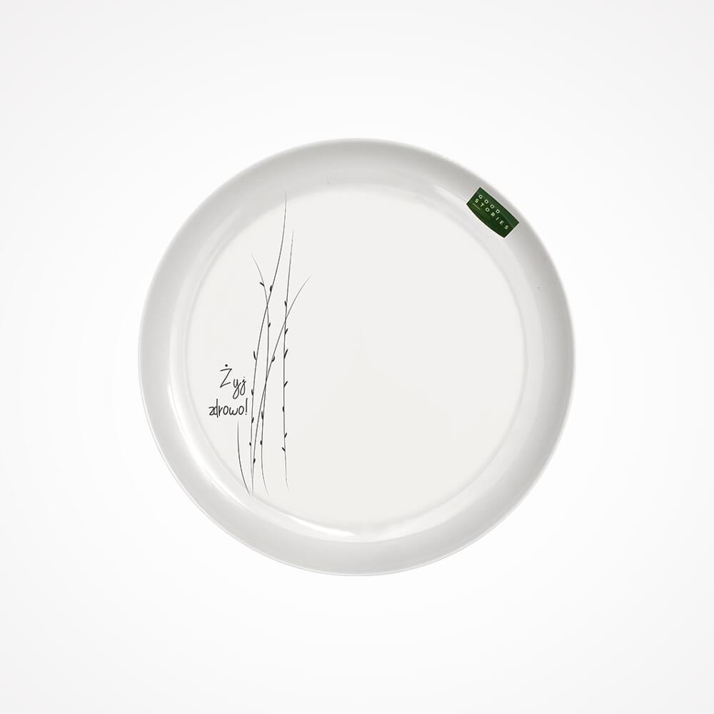 mały talerz obiadowy