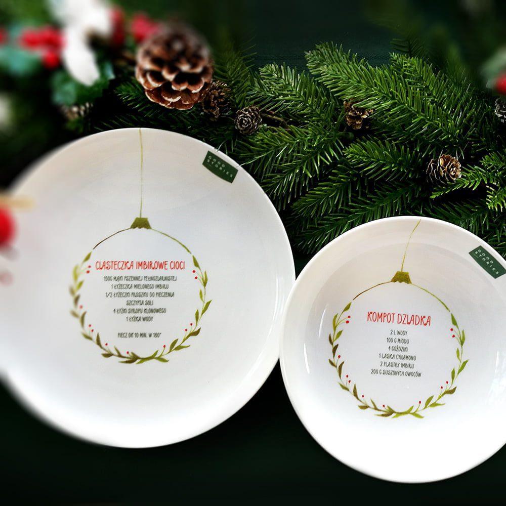 porcelana śwąteczna