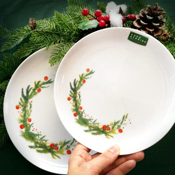 porcelana świąteczna