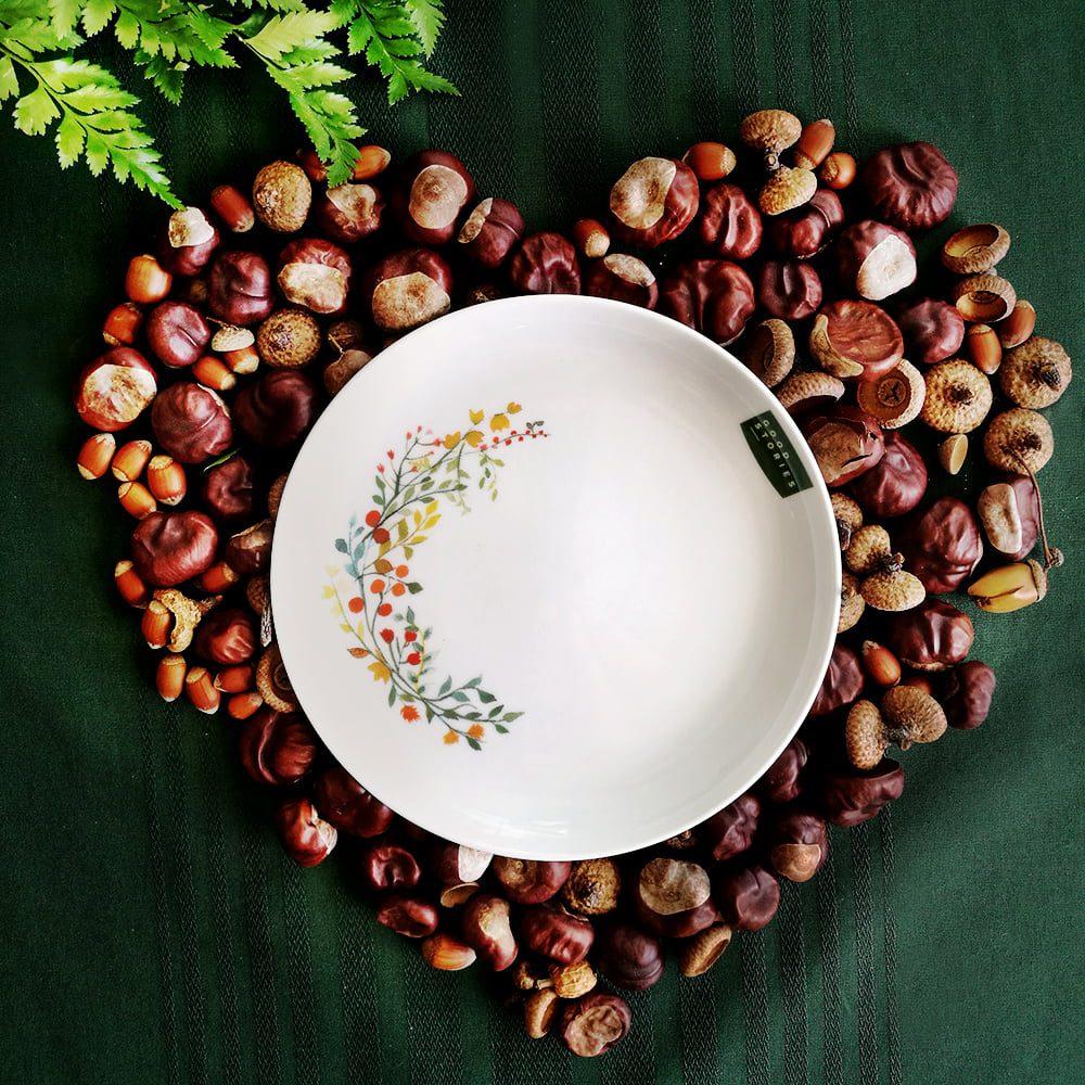 talerz deserowy jesień