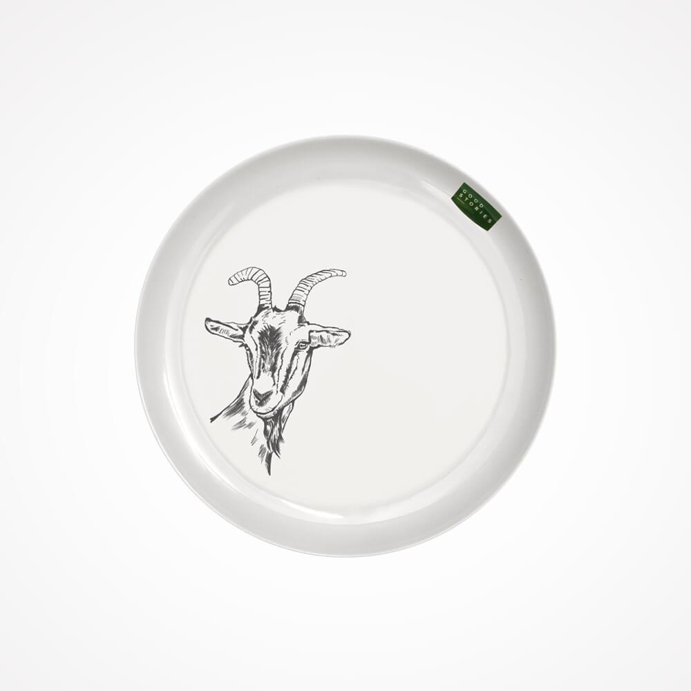 talerzyk deserowy z kozą