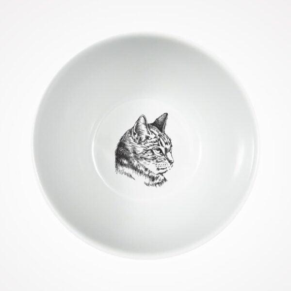 miseczka z kotem