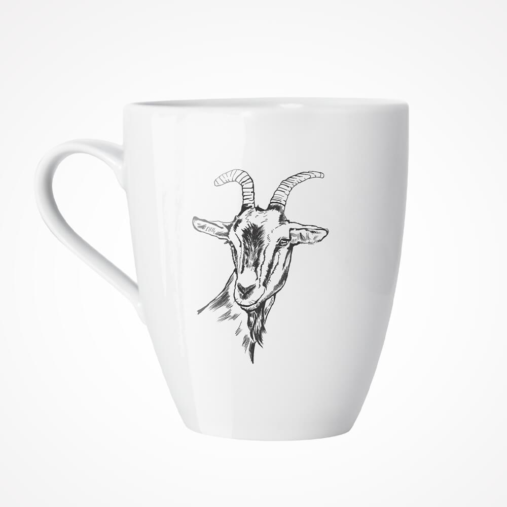 kubek z kozą